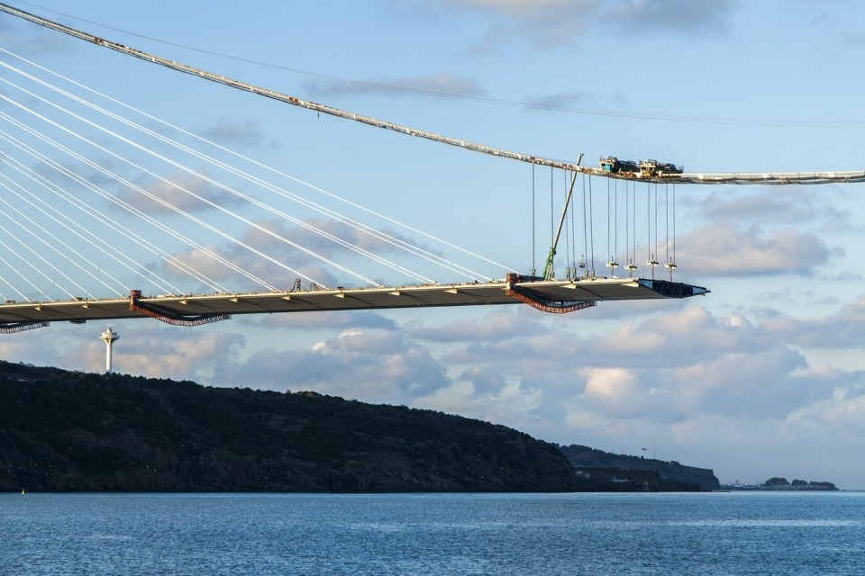 Adım adım Yavuz Sultan Selim Köprüsü 155