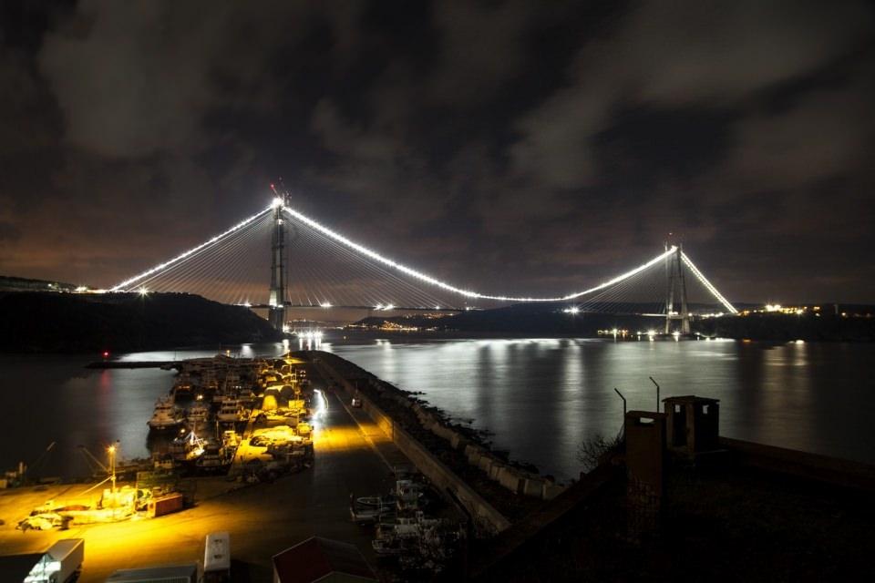 Adım adım Yavuz Sultan Selim Köprüsü 157
