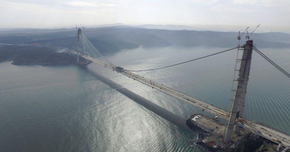Adım adım Yavuz Sultan Selim Köprüsü 16