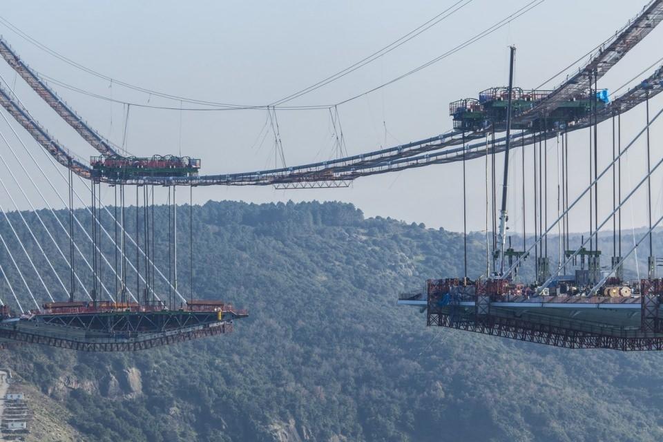 Adım adım Yavuz Sultan Selim Köprüsü 161