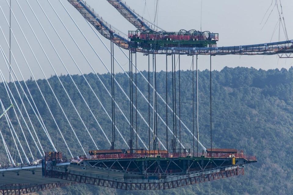 Adım adım Yavuz Sultan Selim Köprüsü 162