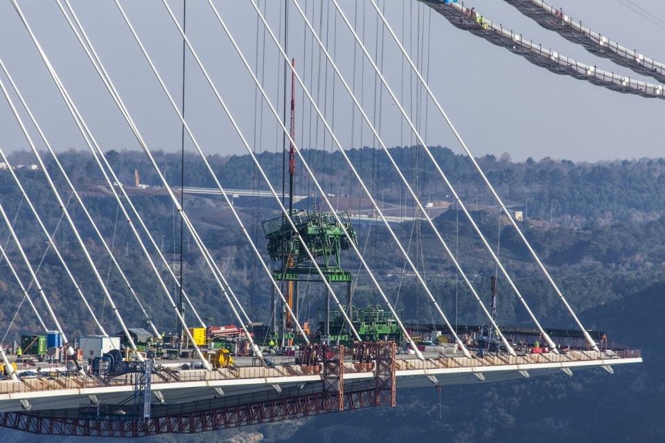 Adım adım Yavuz Sultan Selim Köprüsü 163