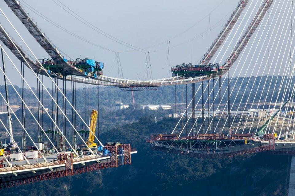 Adım adım Yavuz Sultan Selim Köprüsü 166