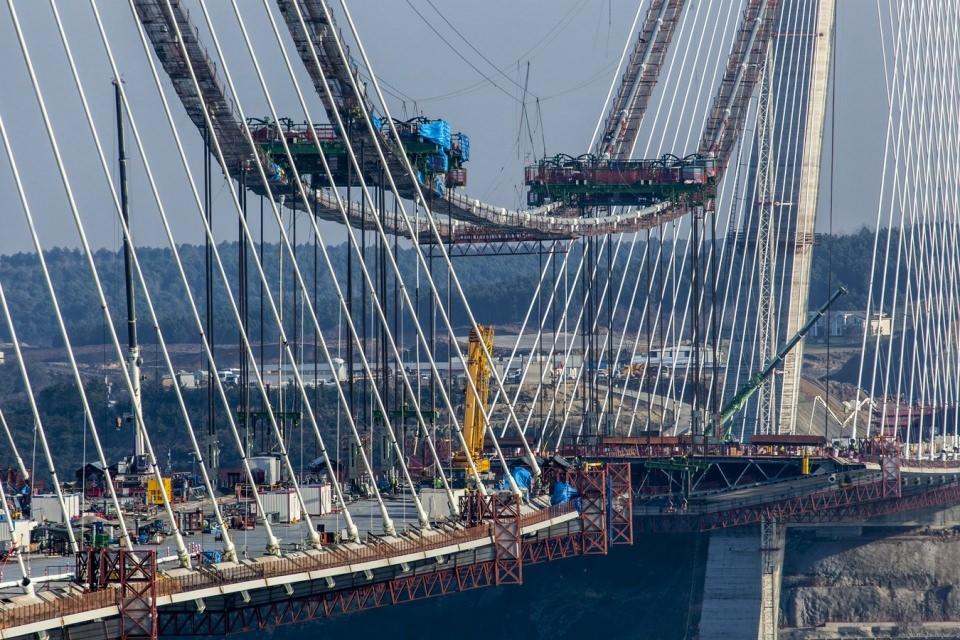 Adım adım Yavuz Sultan Selim Köprüsü 167