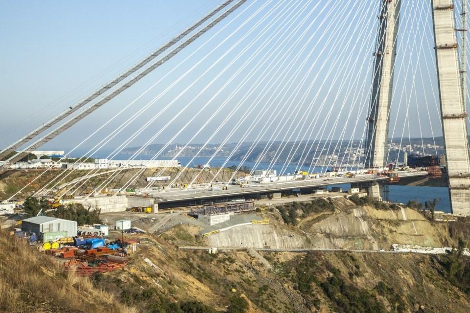 Adım adım Yavuz Sultan Selim Köprüsü 177