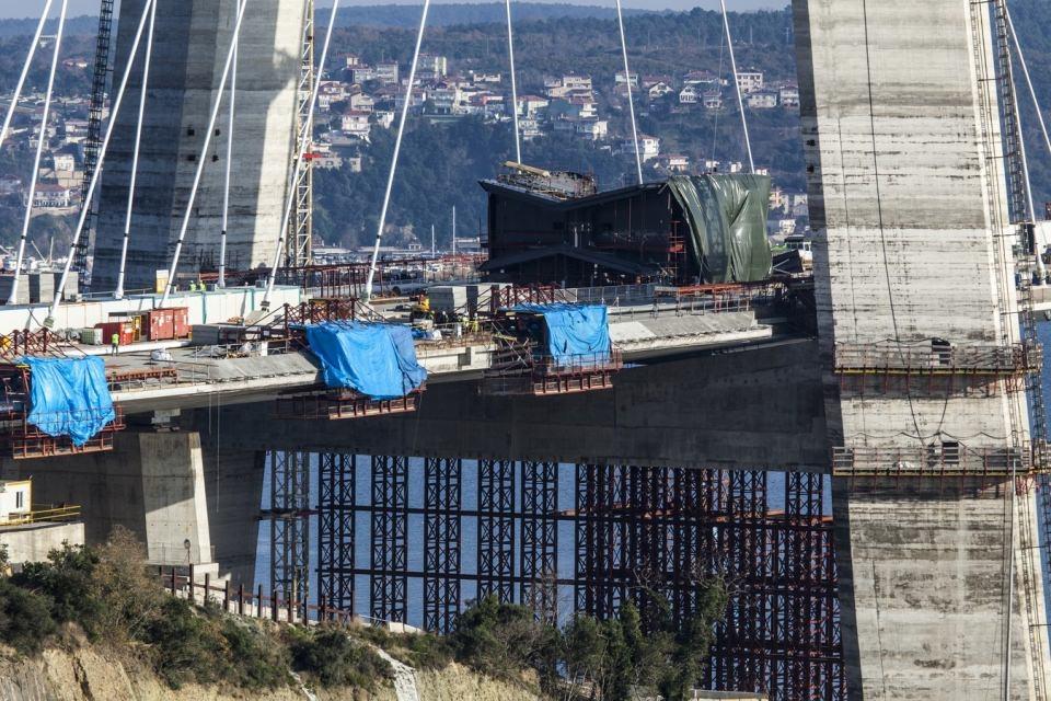 Adım adım Yavuz Sultan Selim Köprüsü 182