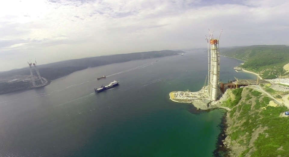 Adım adım Yavuz Sultan Selim Köprüsü 2