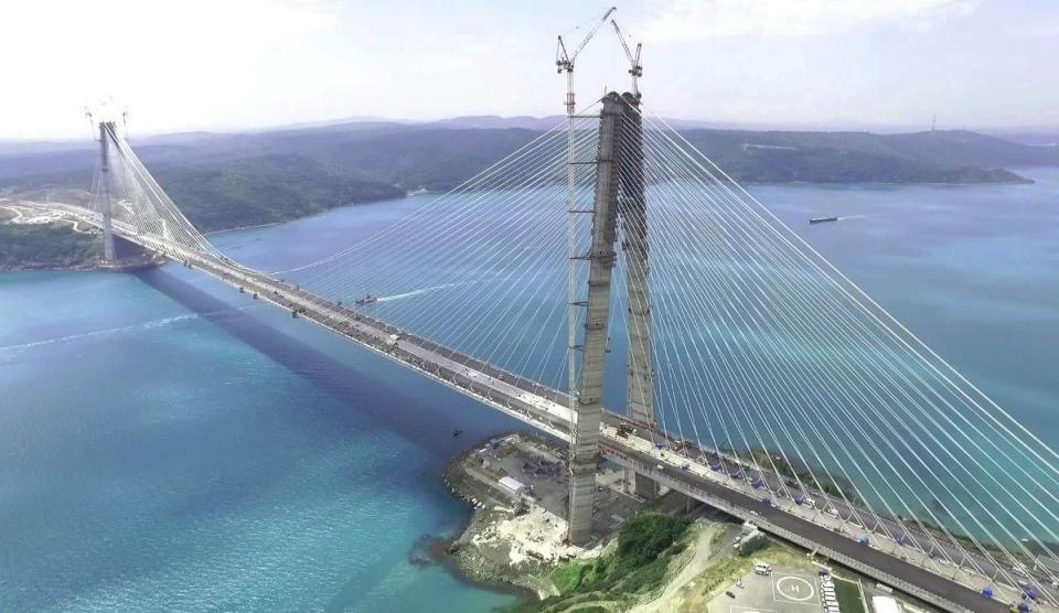 Adım adım Yavuz Sultan Selim Köprüsü 20