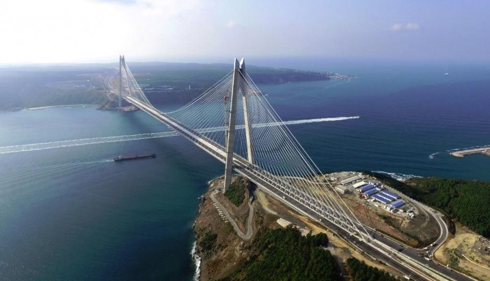Adım adım Yavuz Sultan Selim Köprüsü 24