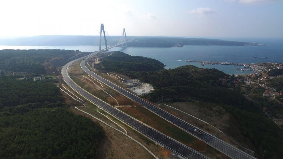Adım adım Yavuz Sultan Selim Köprüsü 25