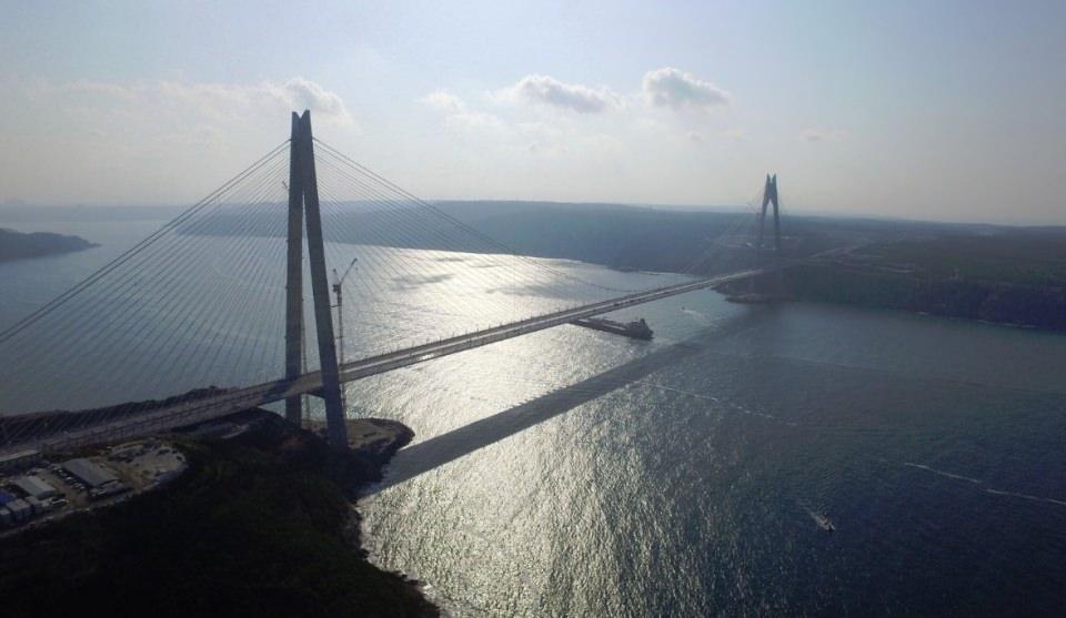 Adım adım Yavuz Sultan Selim Köprüsü 30