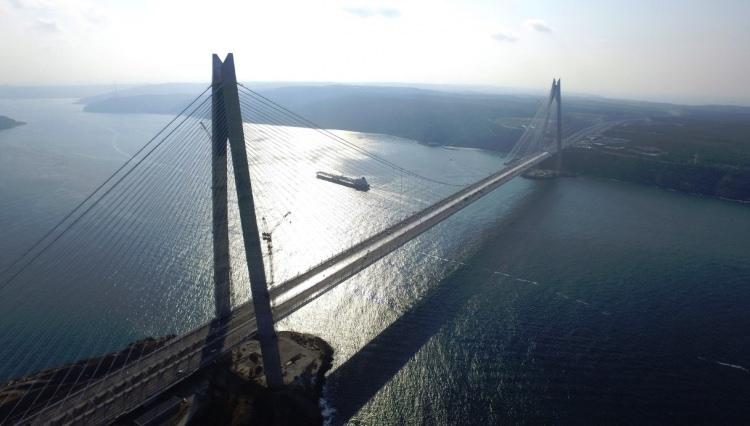 Adım adım Yavuz Sultan Selim Köprüsü 36