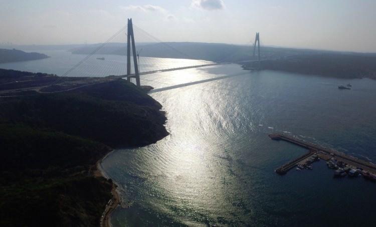 Adım adım Yavuz Sultan Selim Köprüsü 37