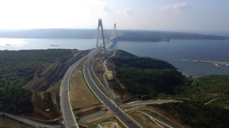 Adım adım Yavuz Sultan Selim Köprüsü 40