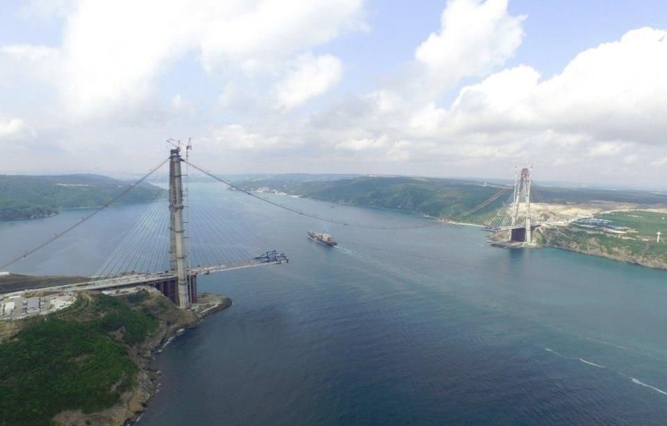 Adım adım Yavuz Sultan Selim Köprüsü 5