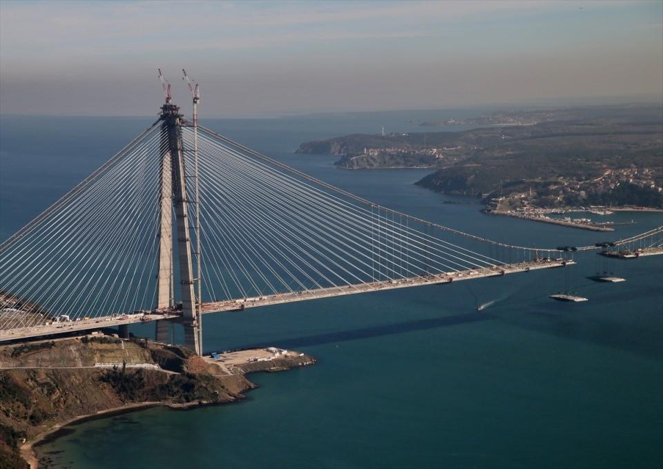 Adım adım Yavuz Sultan Selim Köprüsü 55