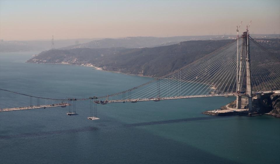 Adım adım Yavuz Sultan Selim Köprüsü 57
