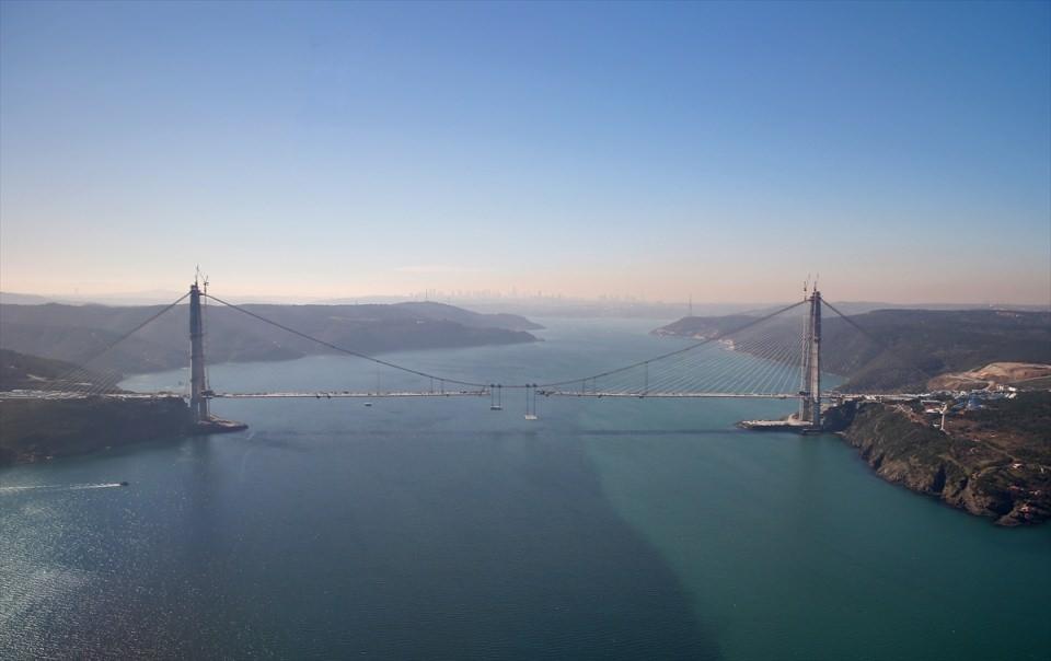 Adım adım Yavuz Sultan Selim Köprüsü 58