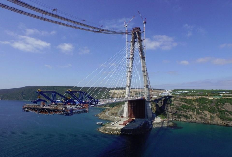 Adım adım Yavuz Sultan Selim Köprüsü 6