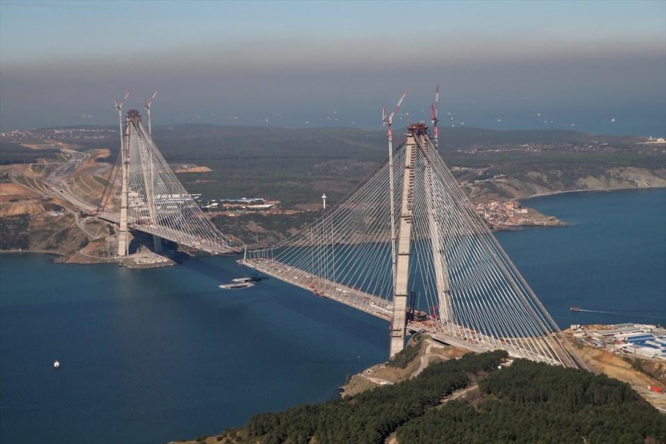 Adım adım Yavuz Sultan Selim Köprüsü 60