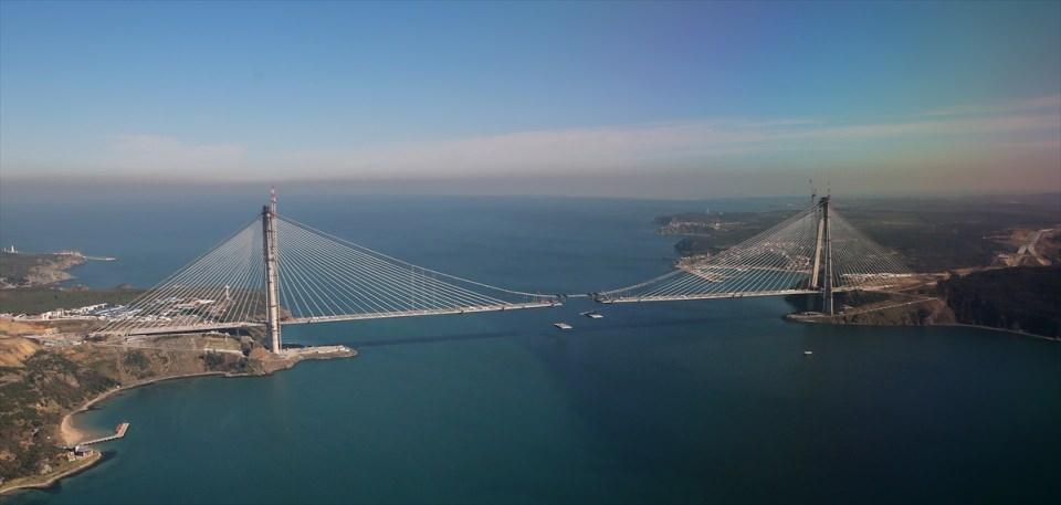 Adım adım Yavuz Sultan Selim Köprüsü 61