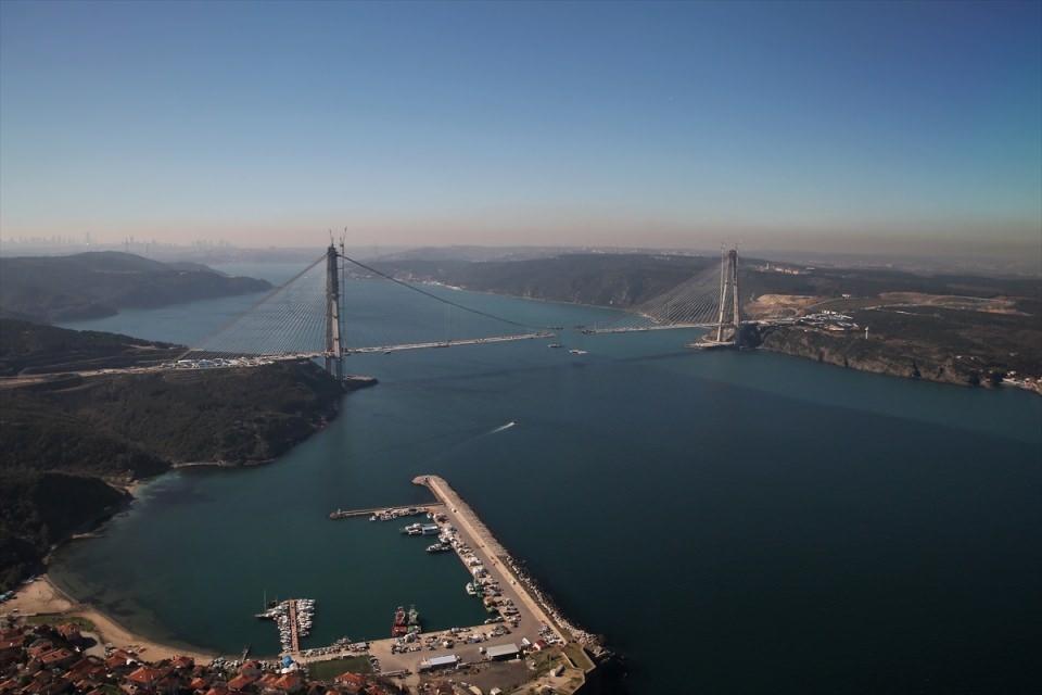 Adım adım Yavuz Sultan Selim Köprüsü 62