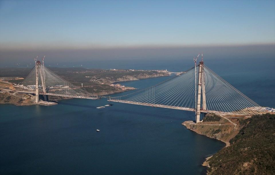 Adım adım Yavuz Sultan Selim Köprüsü 63