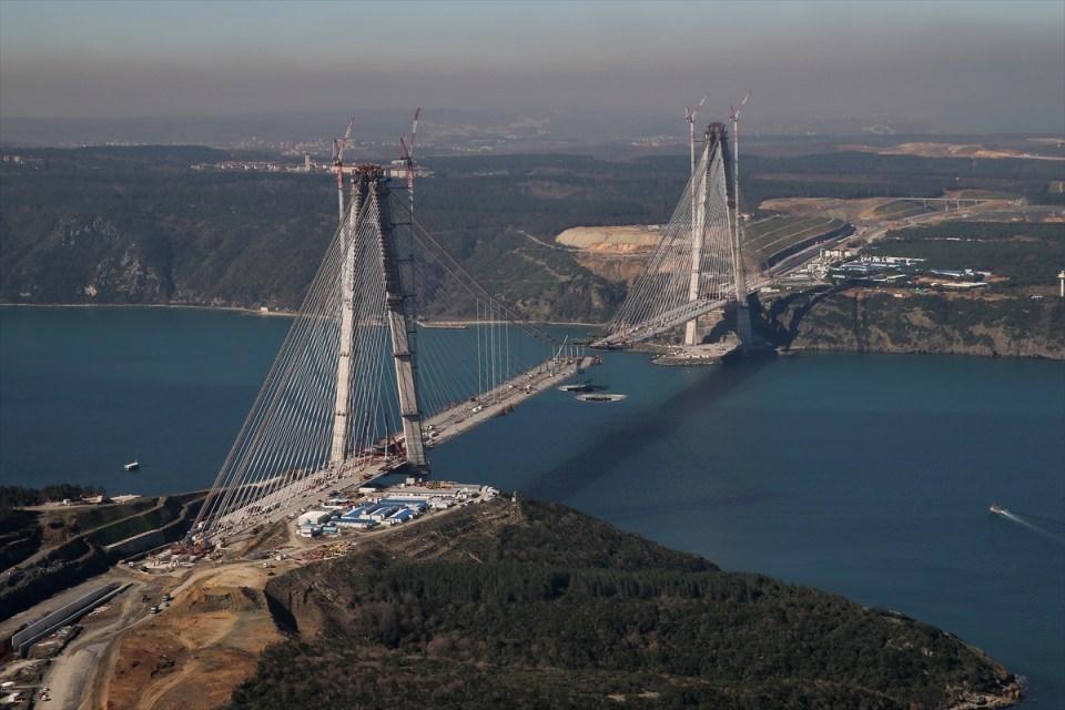 Adım adım Yavuz Sultan Selim Köprüsü 69