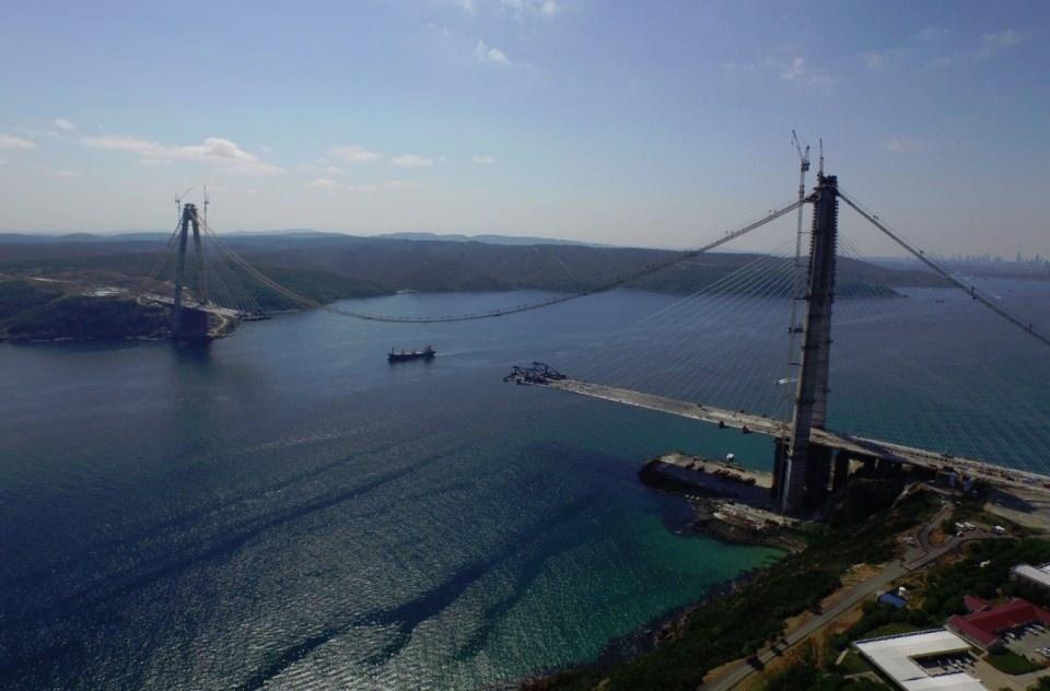 Adım adım Yavuz Sultan Selim Köprüsü 7