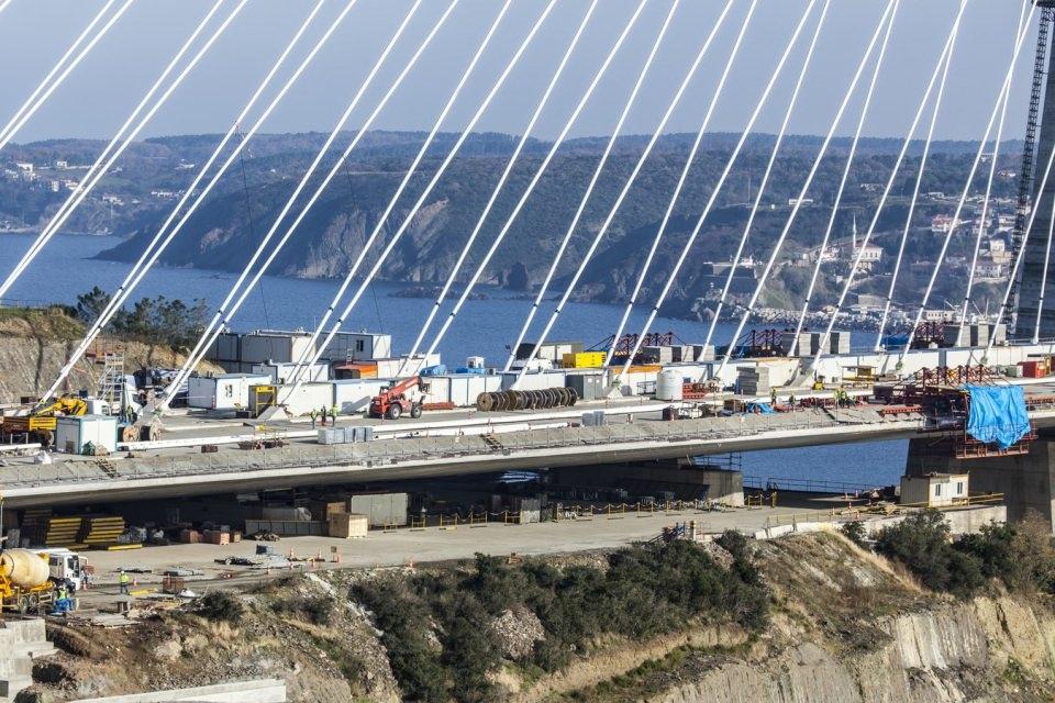 Adım adım Yavuz Sultan Selim Köprüsü 77