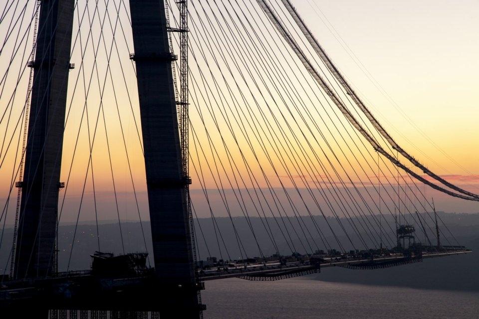 Adım adım Yavuz Sultan Selim Köprüsü 78