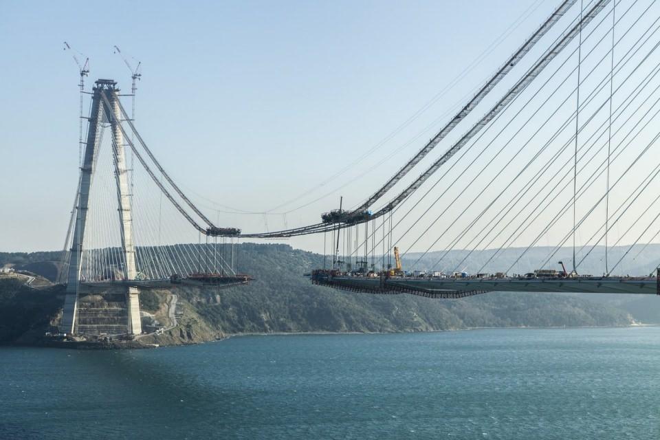 Adım adım Yavuz Sultan Selim Köprüsü 84