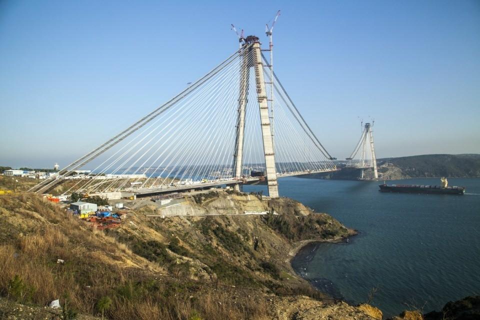 Adım adım Yavuz Sultan Selim Köprüsü 85