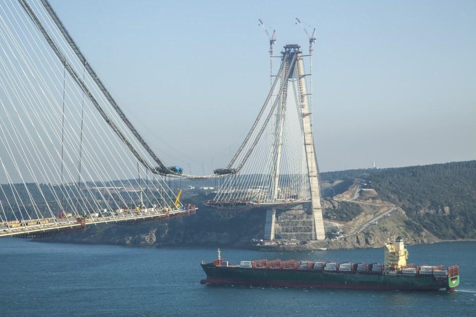 Adım adım Yavuz Sultan Selim Köprüsü 86