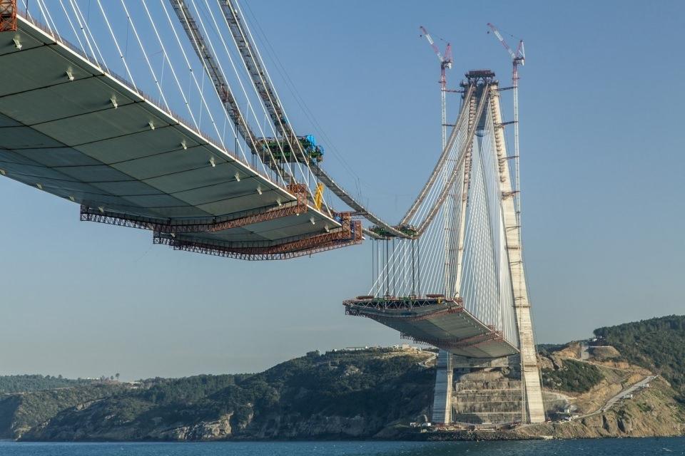 Adım adım Yavuz Sultan Selim Köprüsü 87