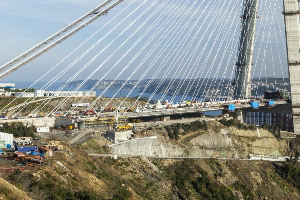 Adım adım Yavuz Sultan Selim Köprüsü 89