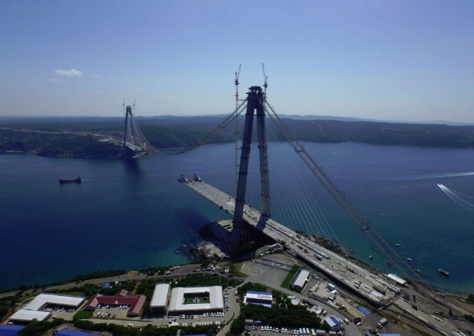Adım adım Yavuz Sultan Selim Köprüsü 9