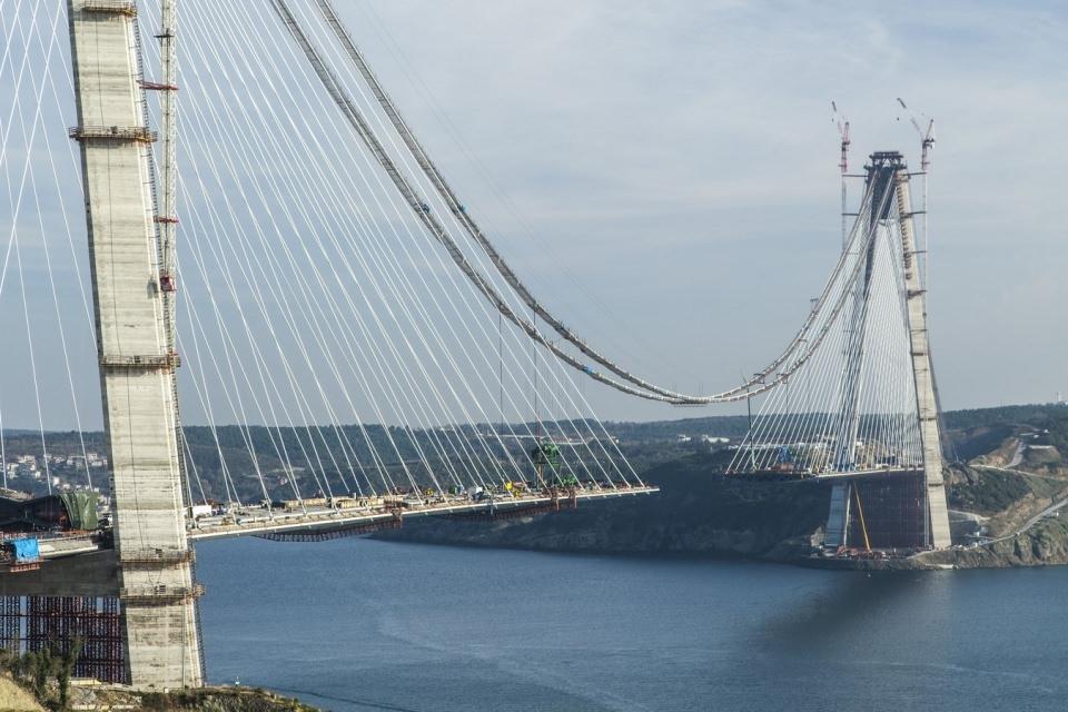Adım adım Yavuz Sultan Selim Köprüsü 90