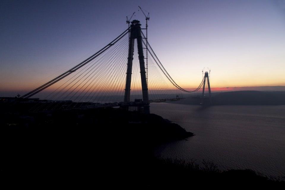 Adım adım Yavuz Sultan Selim Köprüsü 92