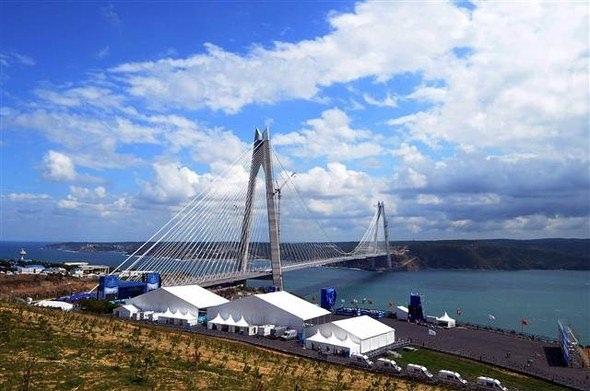 3. Köprü açılışında geniş güvenlik önlemleri 12