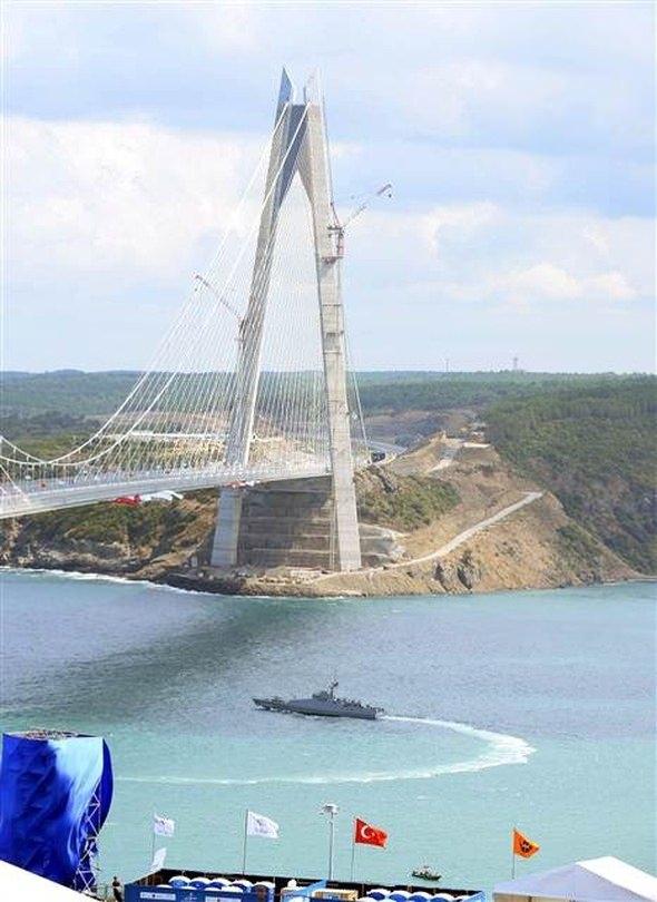 3. Köprü açılışında geniş güvenlik önlemleri 9