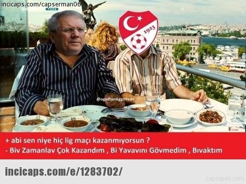 Fenerbahçe-Kayserispor maçı Caps'leri 1