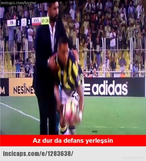 Fenerbahçe-Kayserispor maçı Caps'leri 10