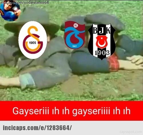Fenerbahçe-Kayserispor maçı Caps'leri 13