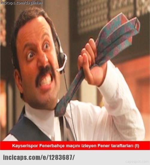 Fenerbahçe-Kayserispor maçı Caps'leri 19