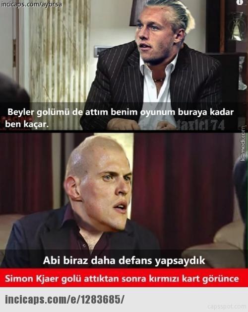 Fenerbahçe-Kayserispor maçı Caps'leri 26