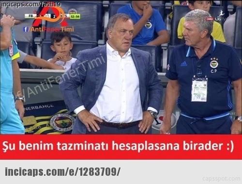 Fenerbahçe-Kayserispor maçı Caps'leri 3