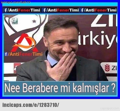 Fenerbahçe-Kayserispor maçı Caps'leri 30