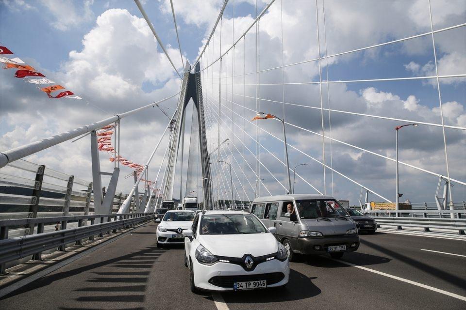 3. Köprü'de dikkat çeken ayrıntı 11