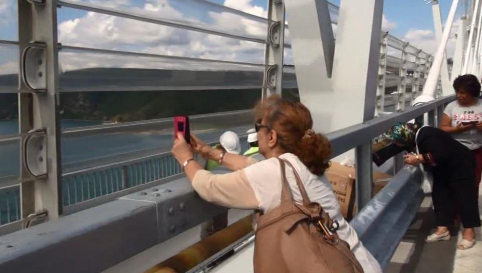 3. Köprü'de dikkat çeken ayrıntı 16
